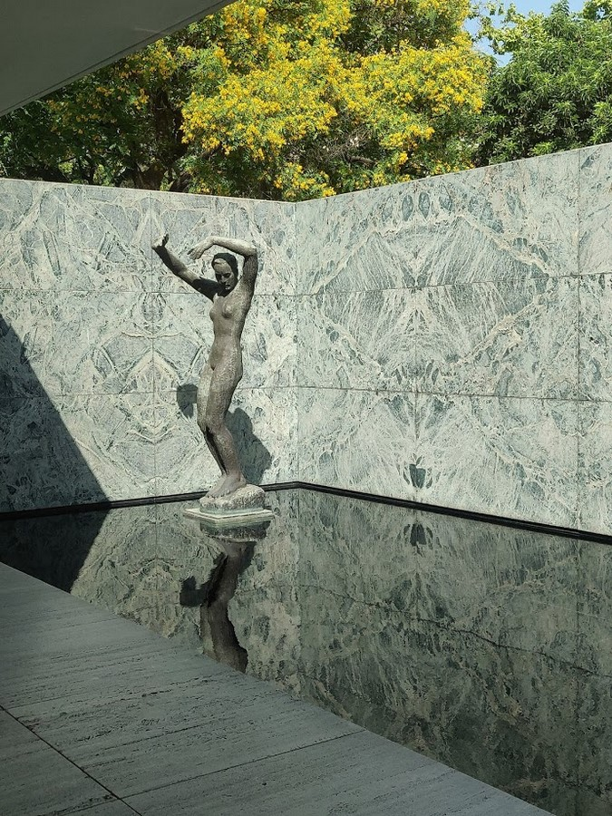 German Pavilion by Mies Van der Rohe: A Formulaic Grid System - Sheet2