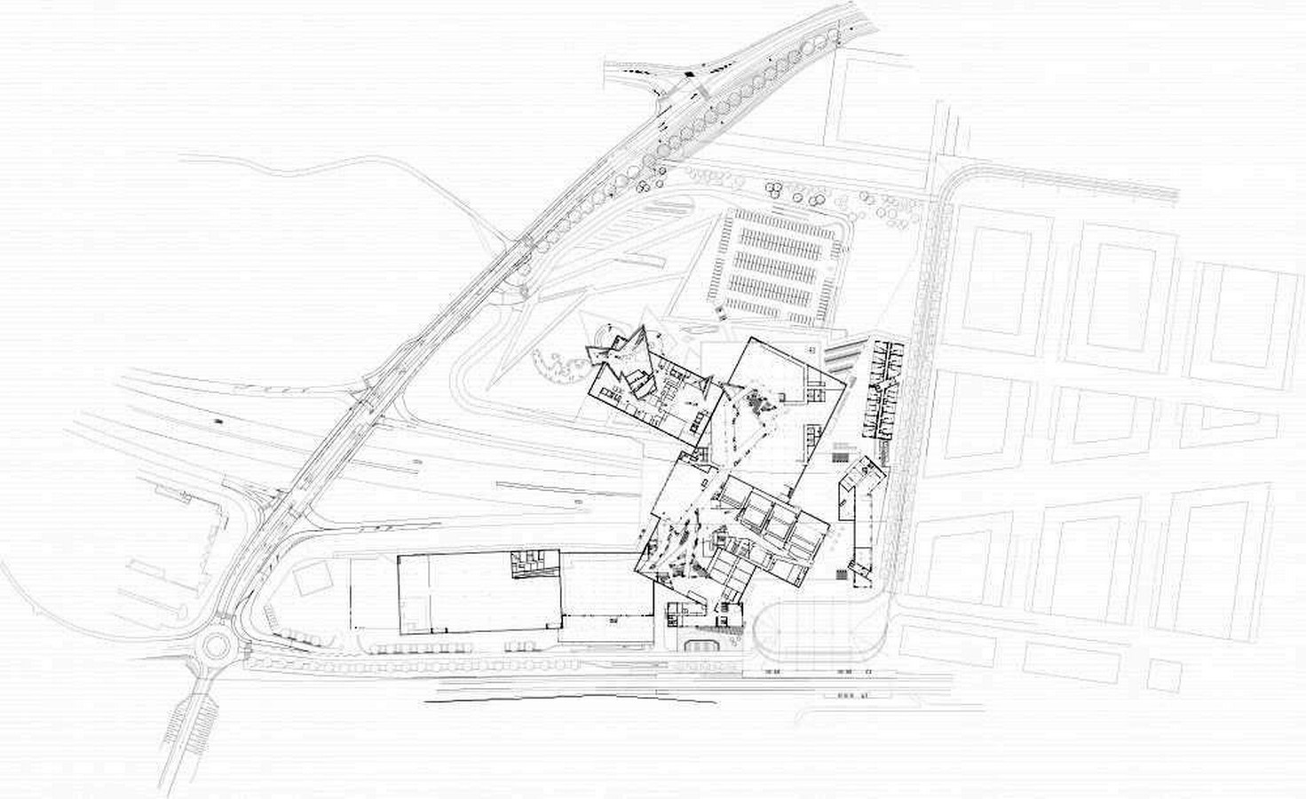 Westside Shopping and Leisure Centre by Daniel Libeskind: Unification of commerce, culture and leisure - Sheet10