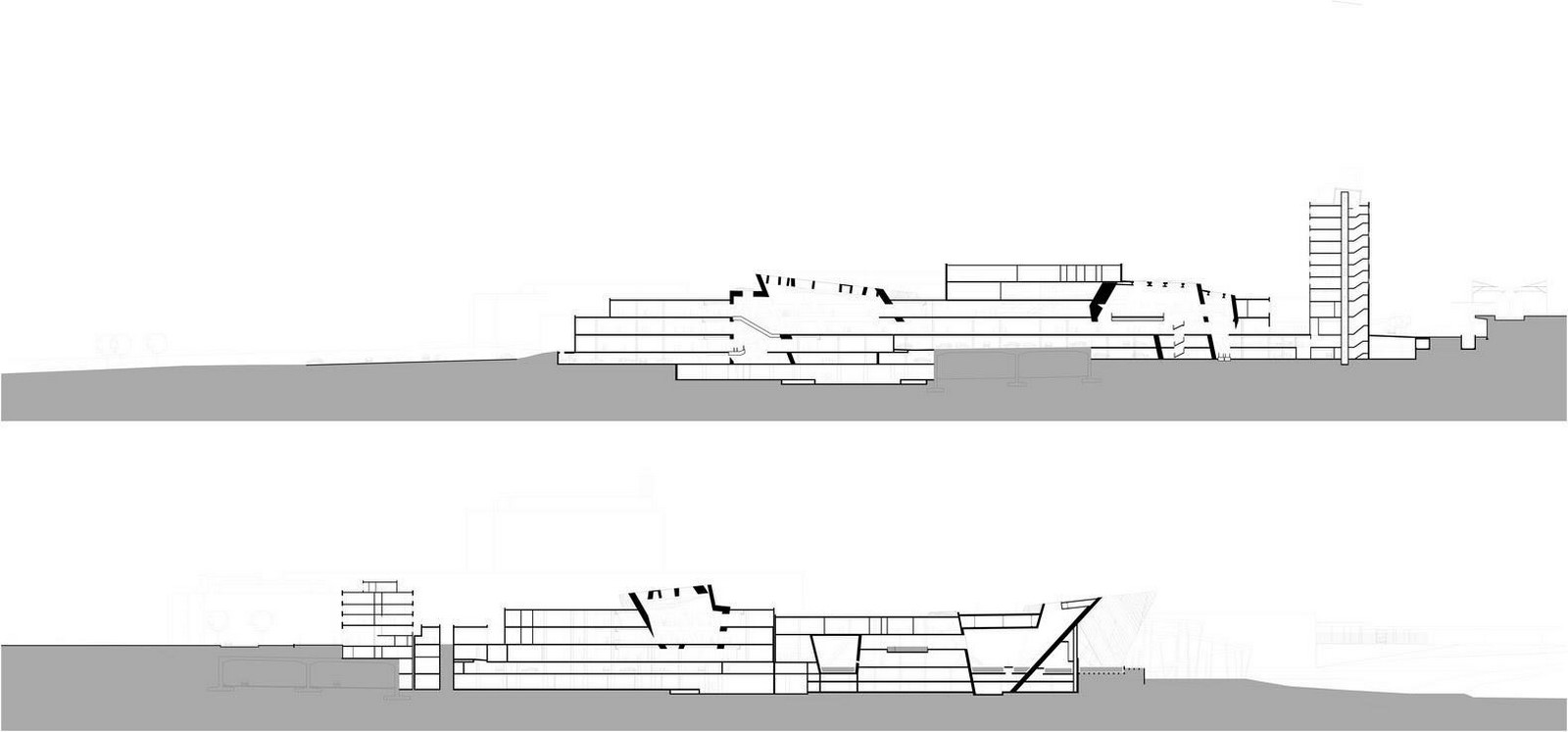 Westside Shopping and Leisure Centre by Daniel Libeskind: Unification of commerce, culture and leisure - Sheet11