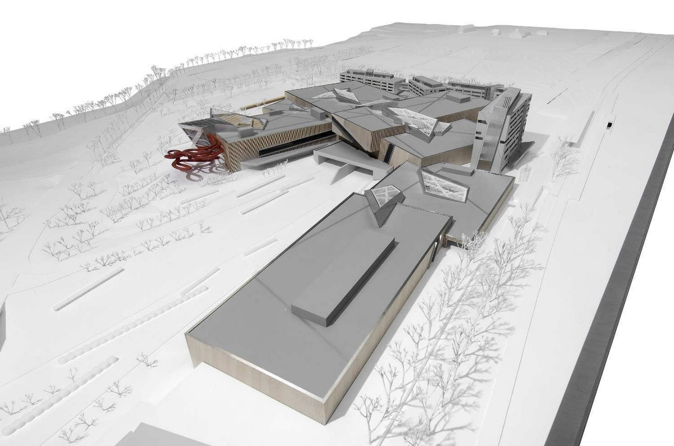 Westside Shopping and Leisure Centre by Daniel Libeskind: Unification of commerce, culture and leisure - Sheet12