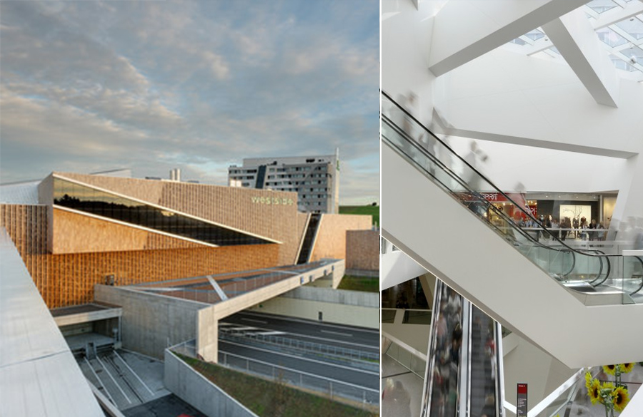 Westside Shopping and Leisure Centre by Daniel Libeskind: Unification of commerce, culture and leisure