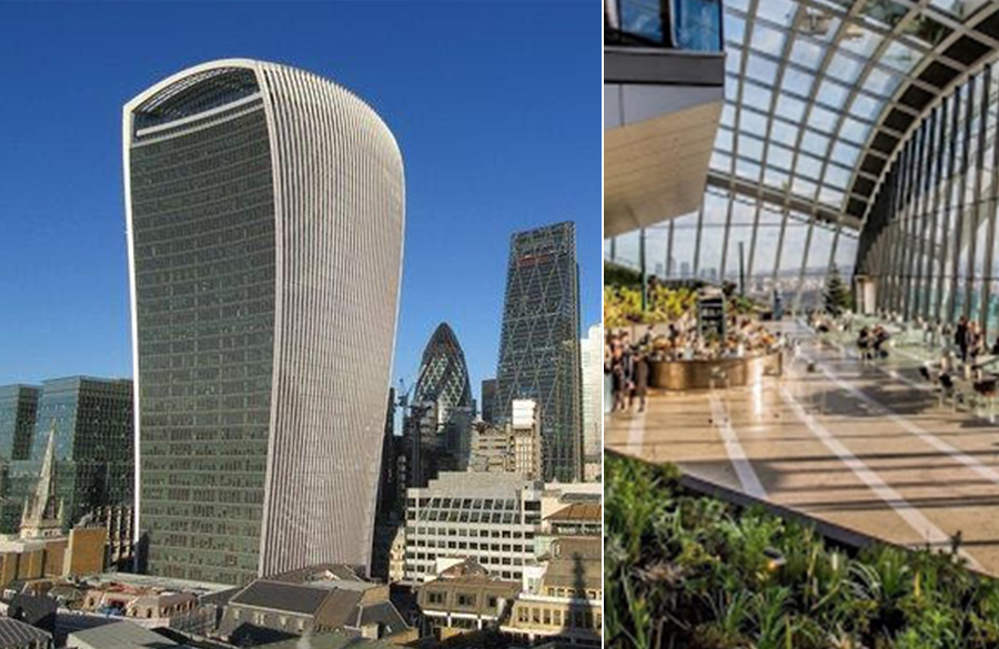 The Walkie Talkie Tower by Rafael Viñoly Architects: 'Unsophisticated 'and 'Bloated'  Skyscraper
