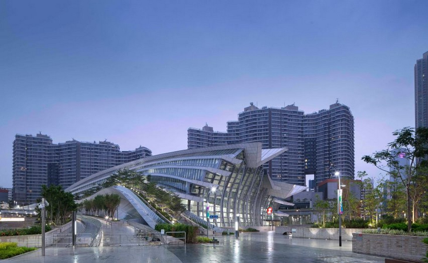 West Kowloon Station, Hong Kong - Sheet1