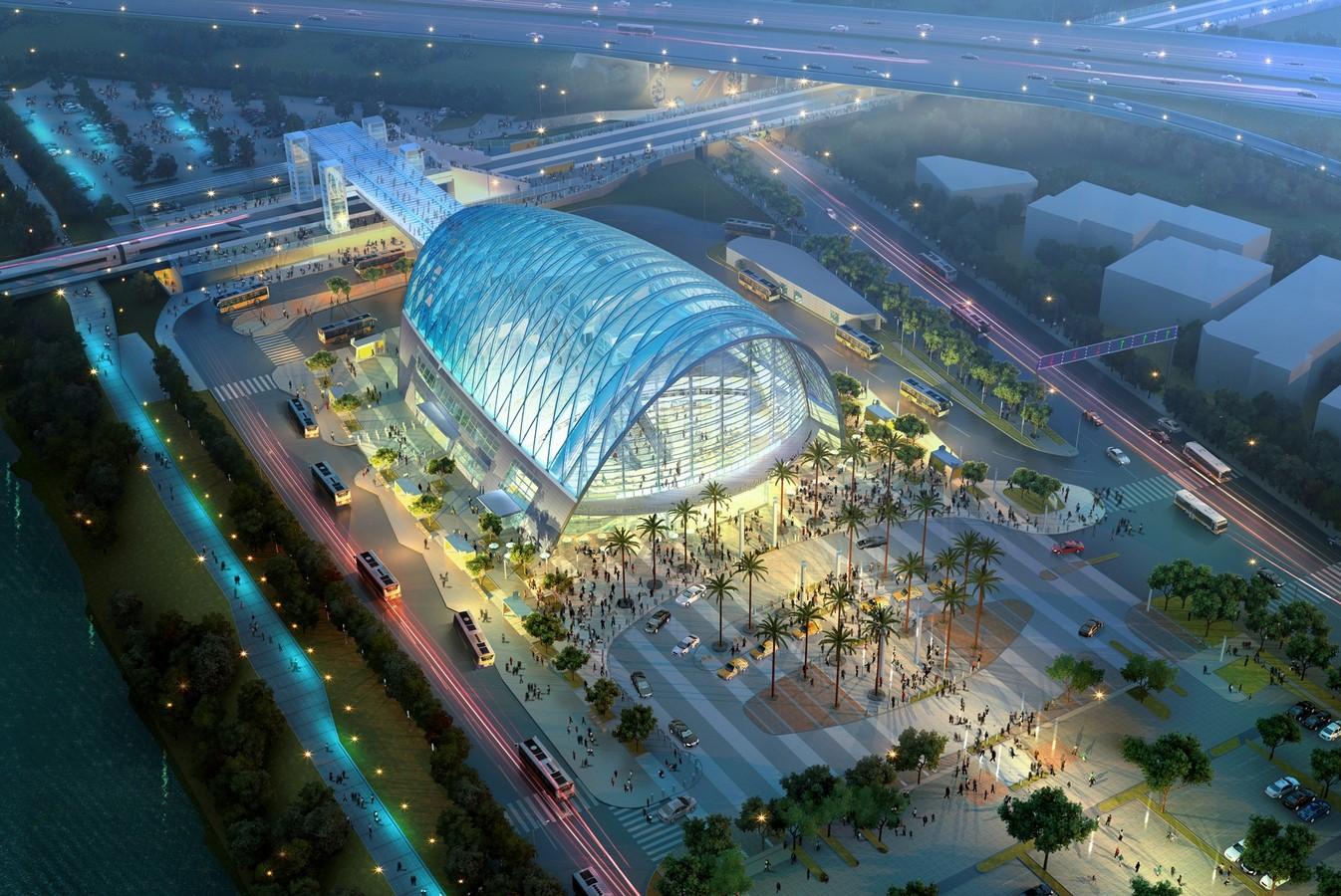 Anaheim Regional Transportation Intermodal Center (ARTIC), USA - Sheet1