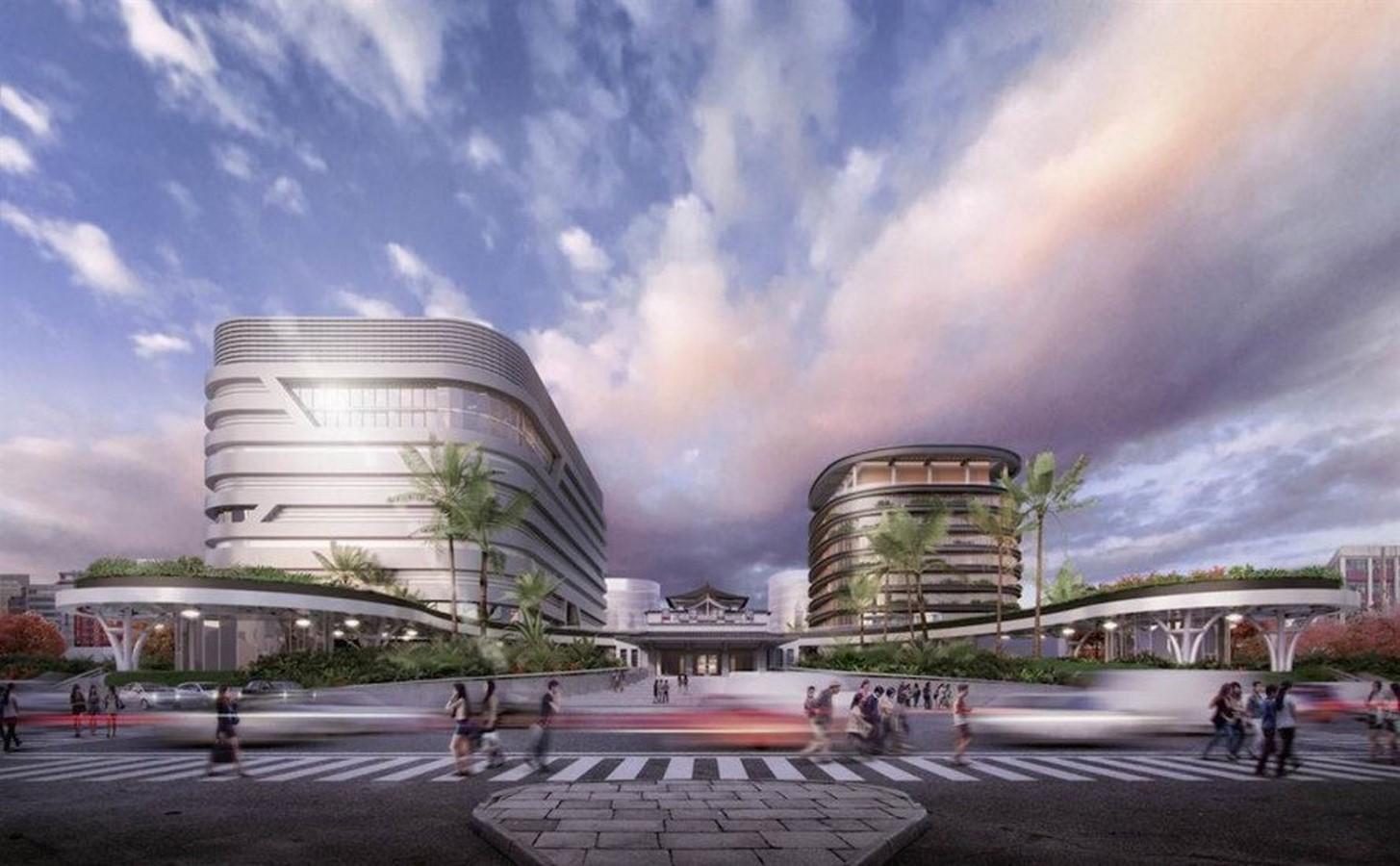 Multi-Modal Transportation Centre, Kaohsiung, Taiwan - Sheet6