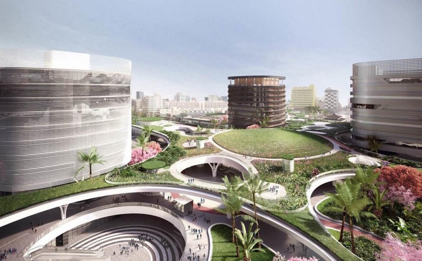 Multi-Modal Transportation Centre, Kaohsiung, Taiwan - Sheet10