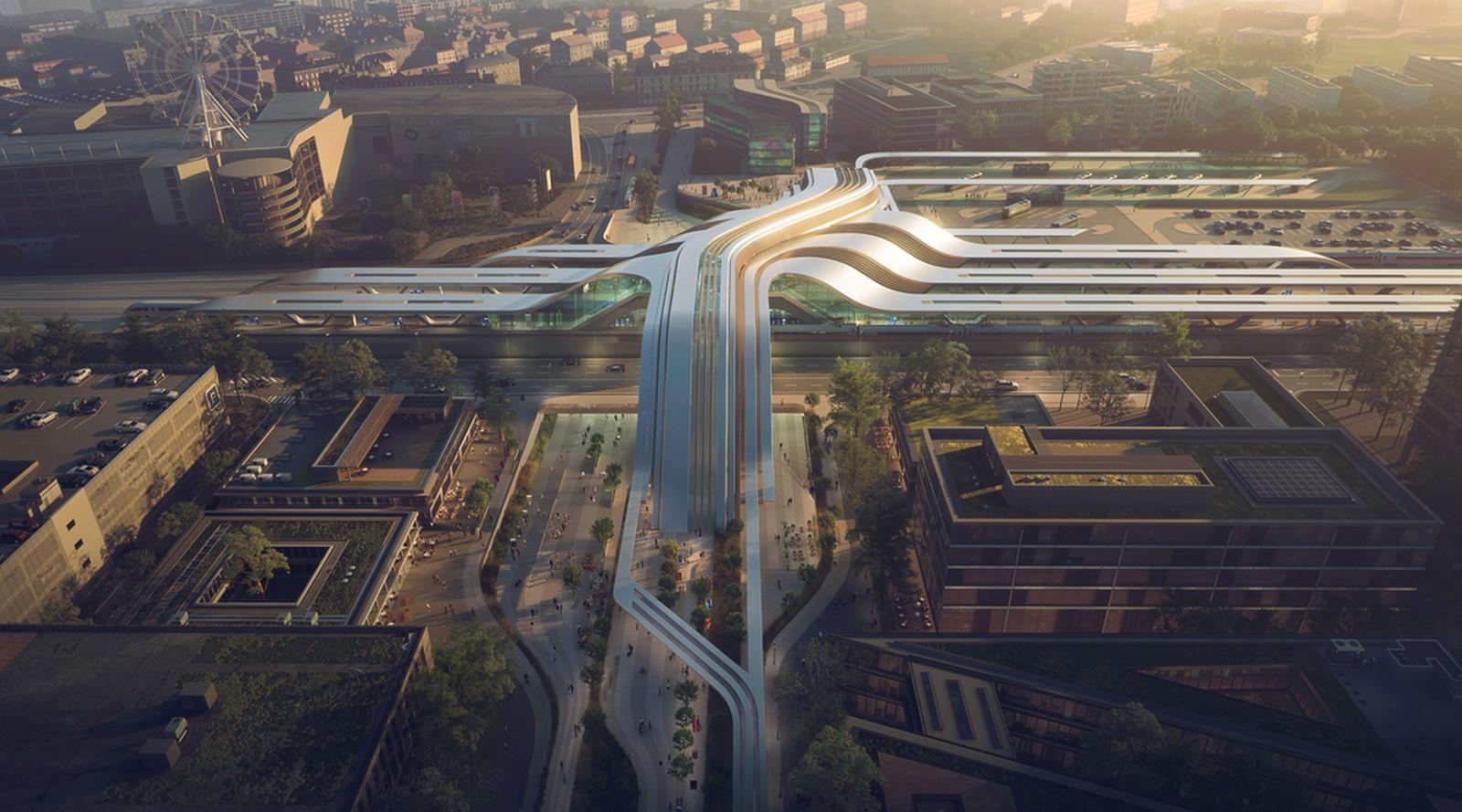 Multi-Modal Traffic Hub: Ülemiste Terminal, Tallinn - Sheet1