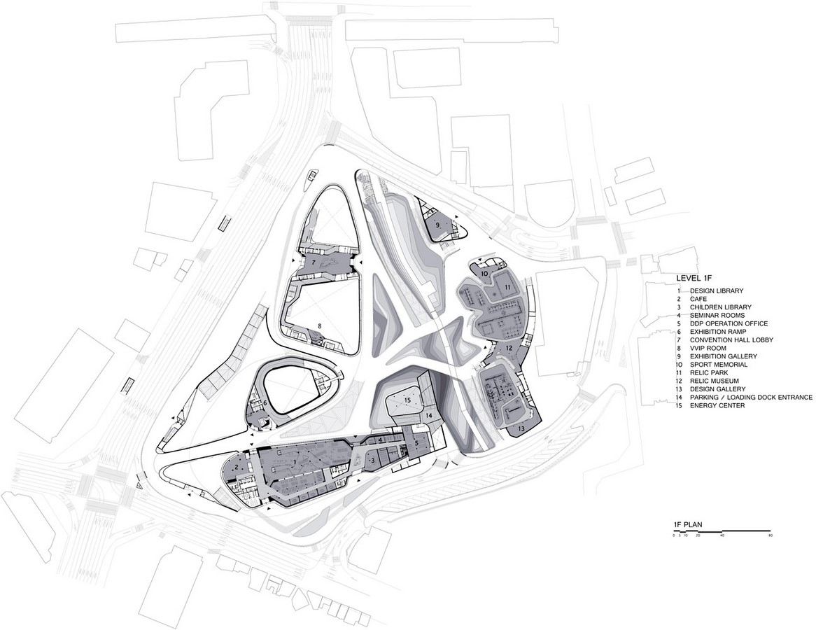 Dongdaemun Design Plaza, Seoul by Zaha Hadid: The Metonymic Landscape - Sheet2