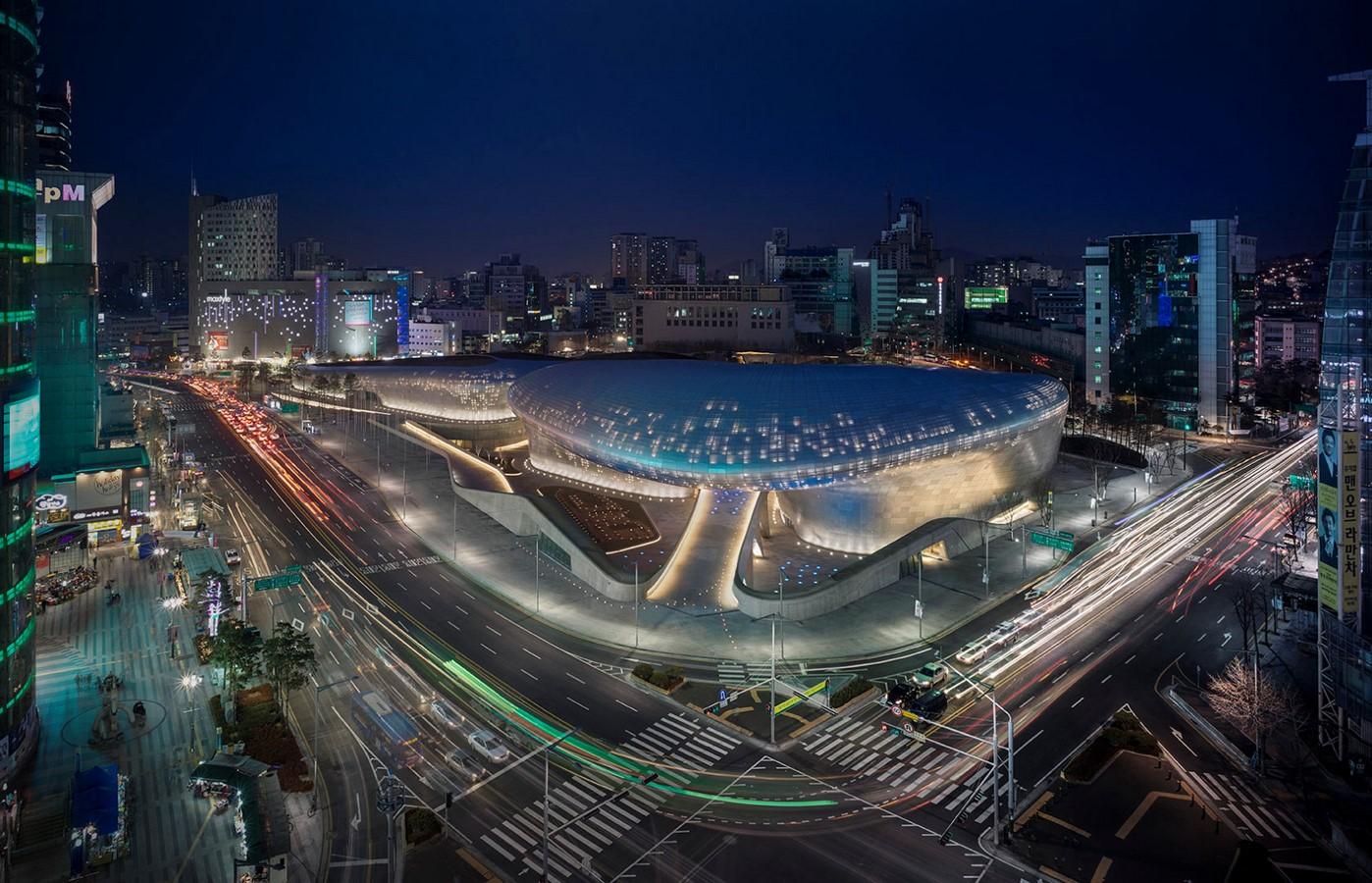 Dongdaemun Design Plaza, Seoul by Zaha Hadid: The Metonymic Landscape - Sheet5