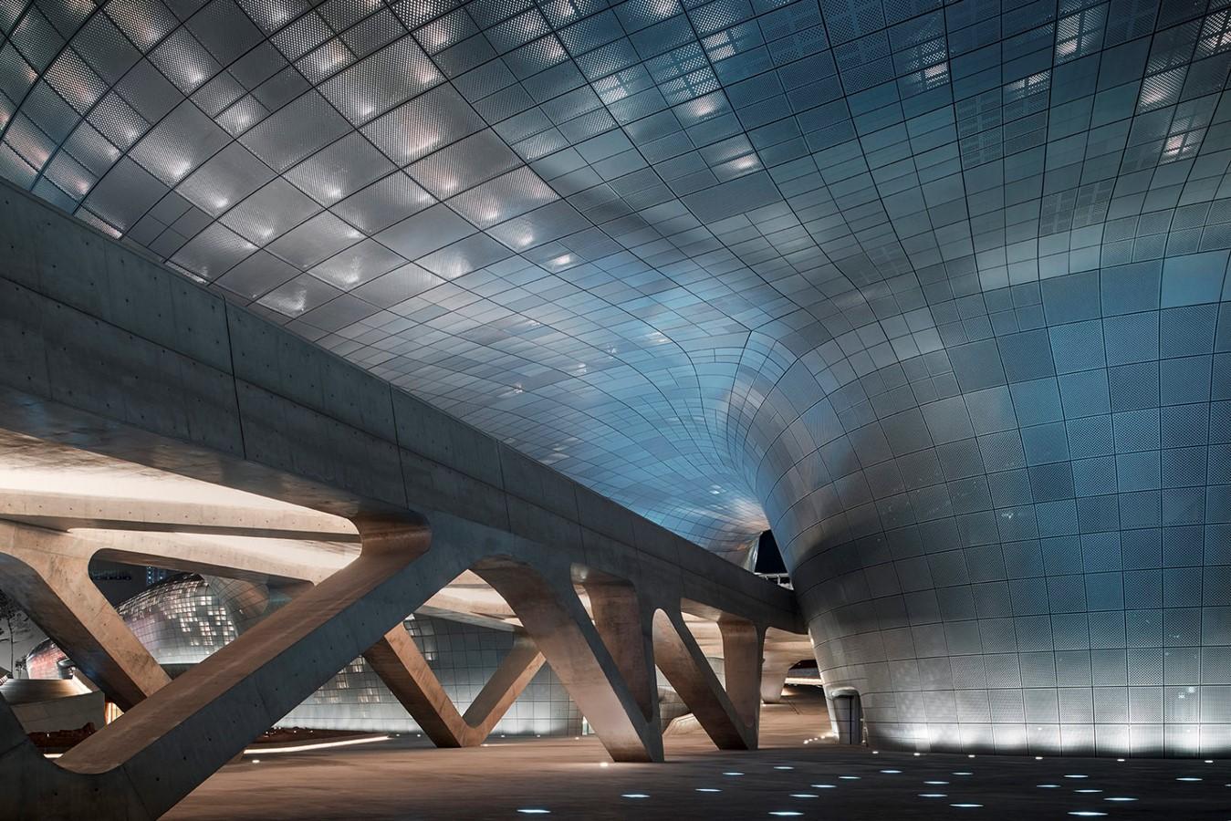 Dongdaemun Design Plaza, Seoul by Zaha Hadid: The Metonymic Landscape - Sheet6
