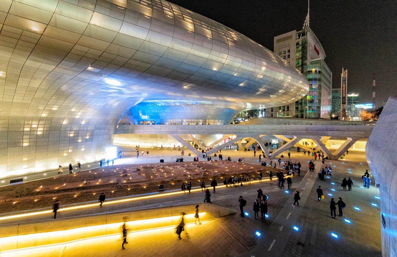 Dongdaemun Design Plaza, Seoul by Zaha Hadid: The Metonymic Landscape - Sheet7