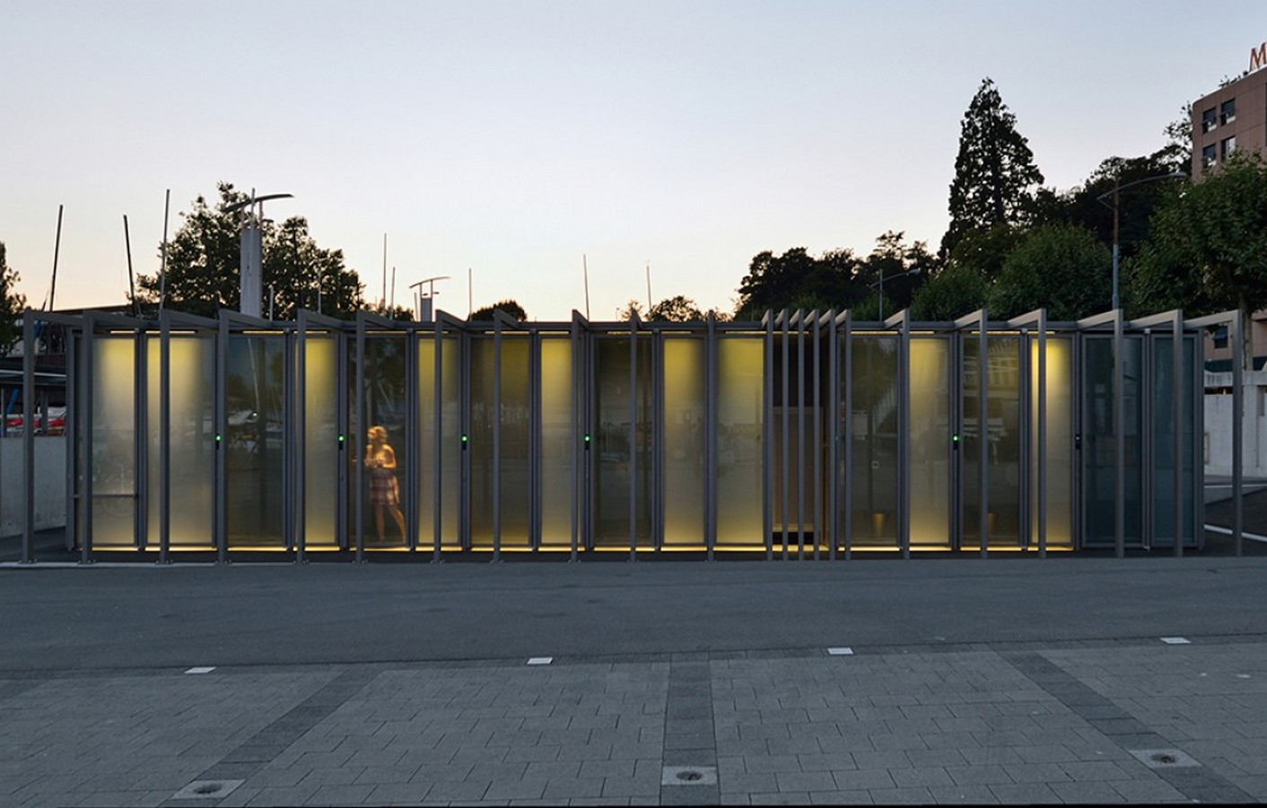 Transparent Toilets at Lausanne, Switzerland - Sheet1