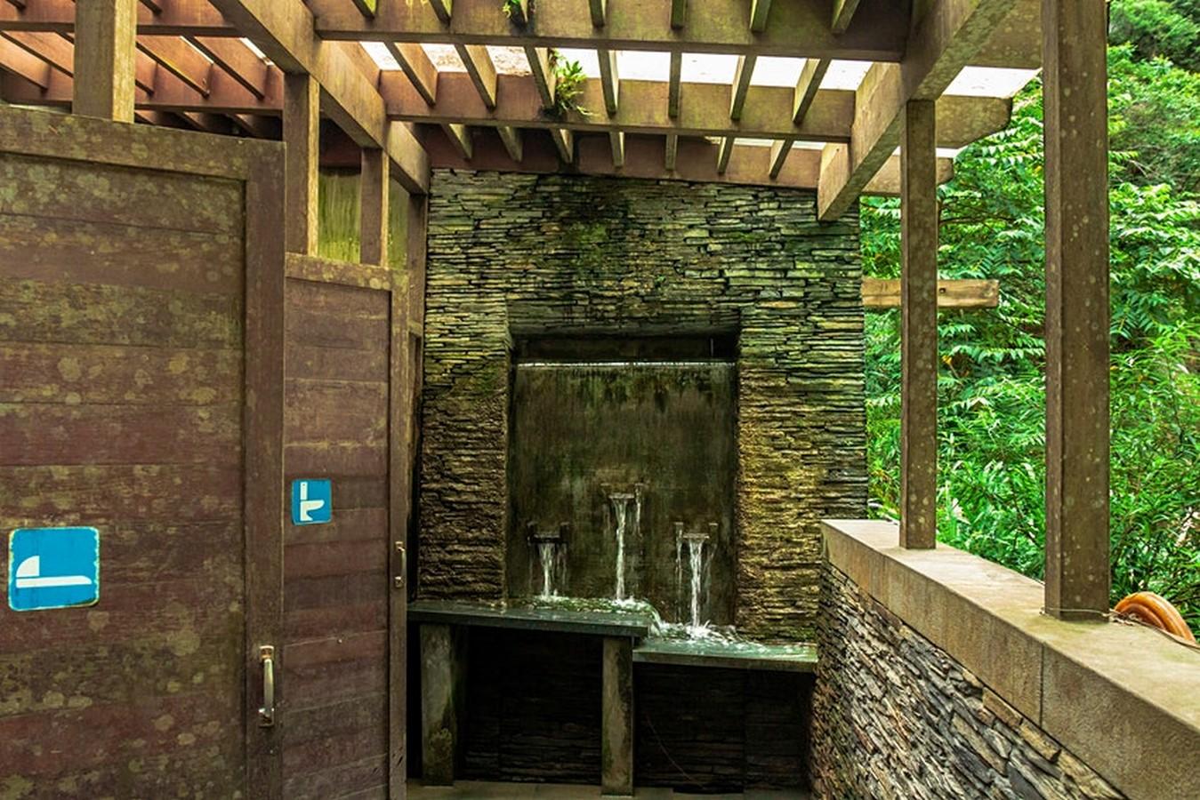 Waterfall washroom, Taroko National Park, Taiwan