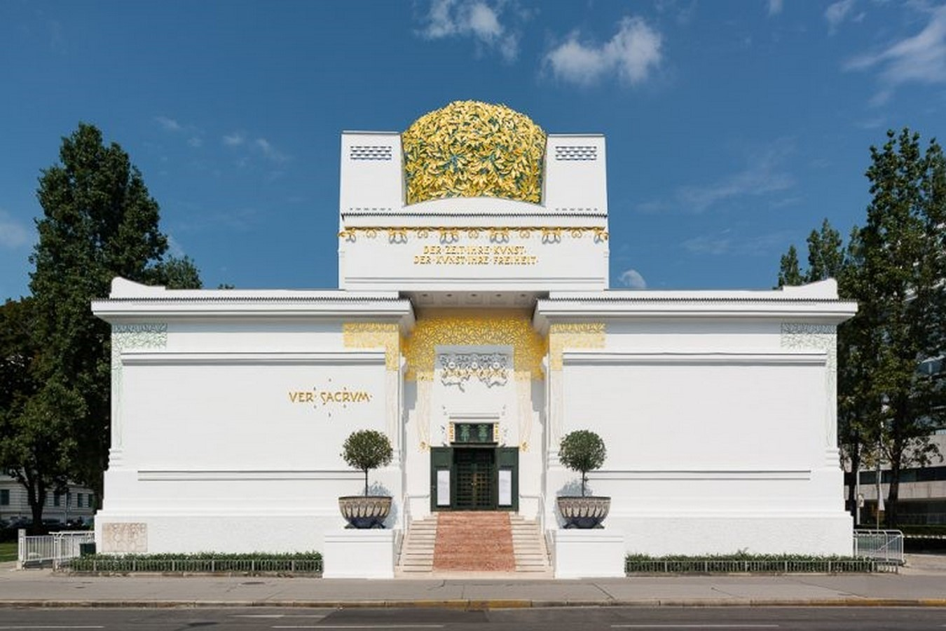 Secession Building by Joseph Maria Olbrich: Painting, Sculpture, and Architecture - Sheet1