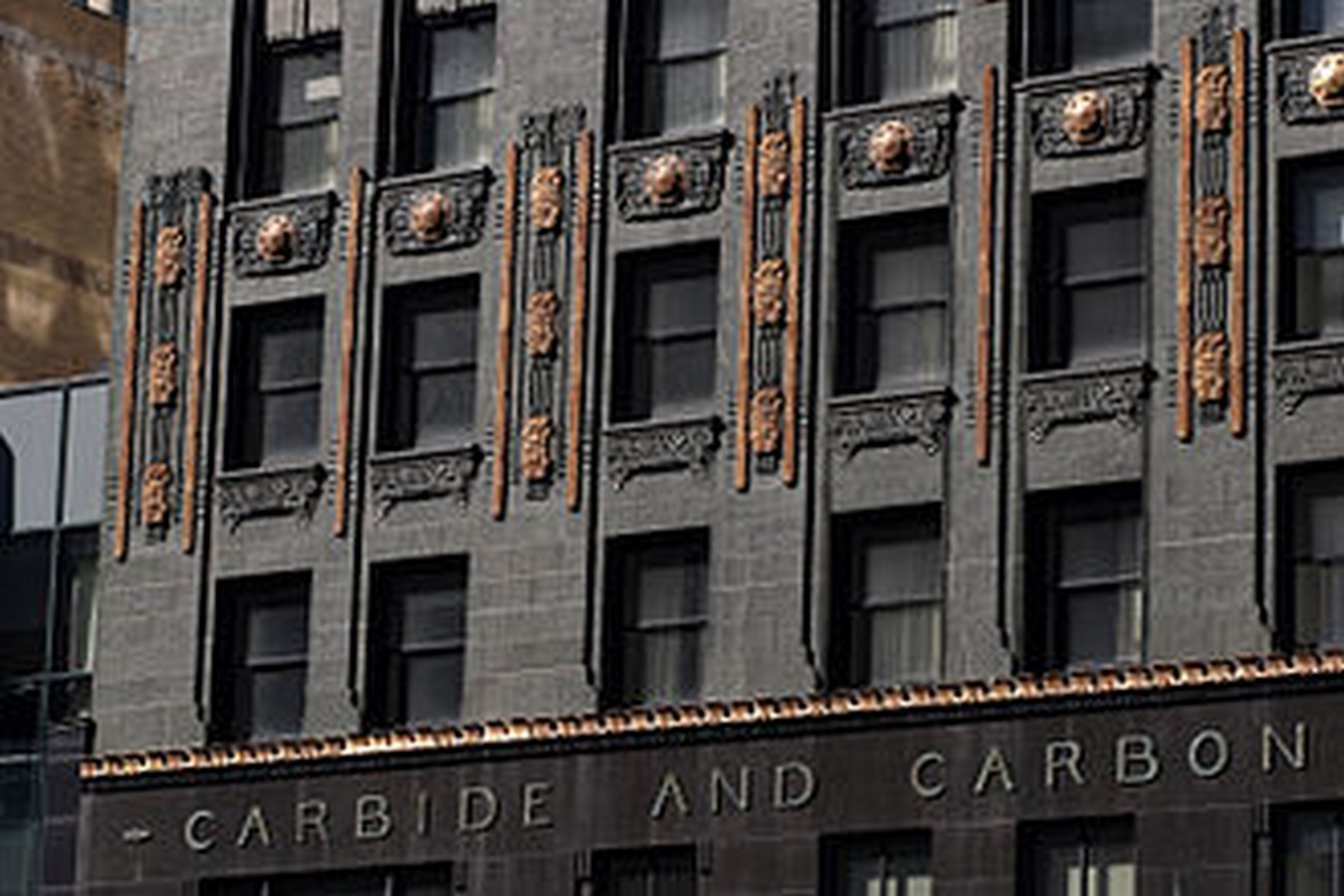 The Carbide and Carbon Building - Chicago, Illinois - Sheet1