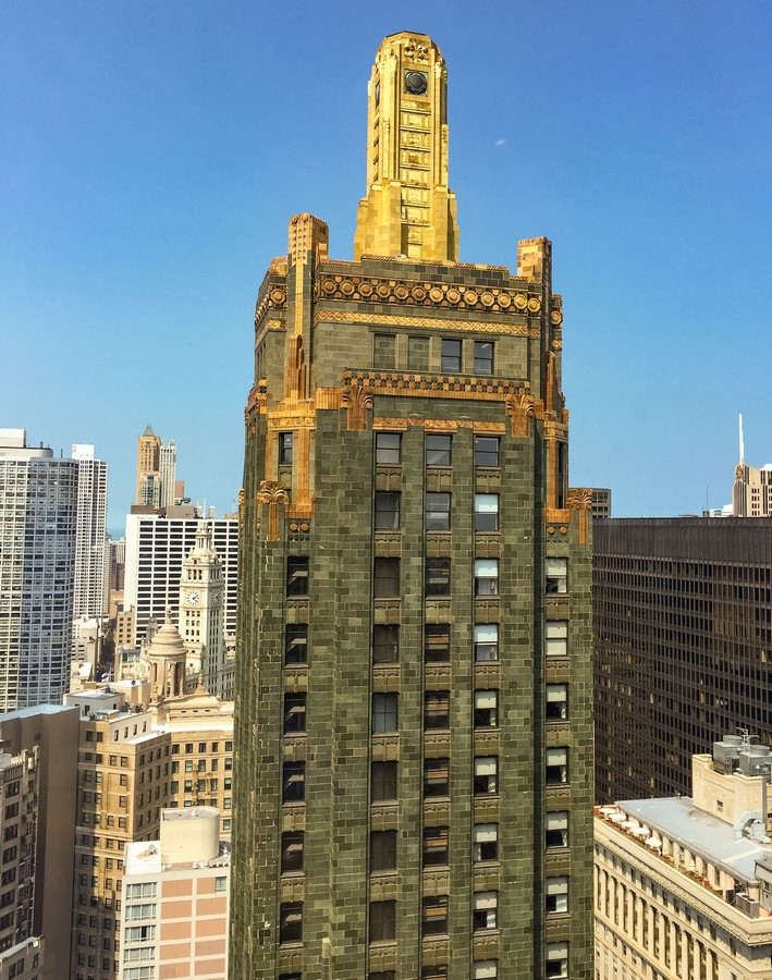 The Carbide and Carbon Building - Chicago, Illinois - Sheet2