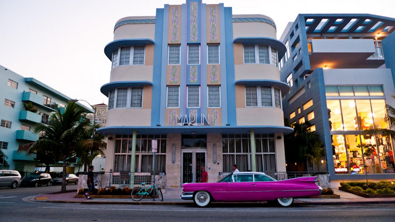 The Marlin Hotel - Miami Beach, Florida - Sheet1