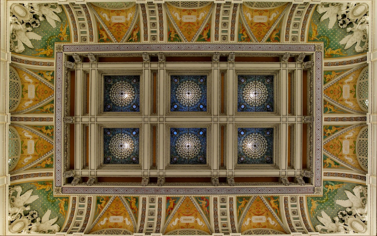 Thomas Jefferson Building: The oldest of the four United States Library - Sheet8