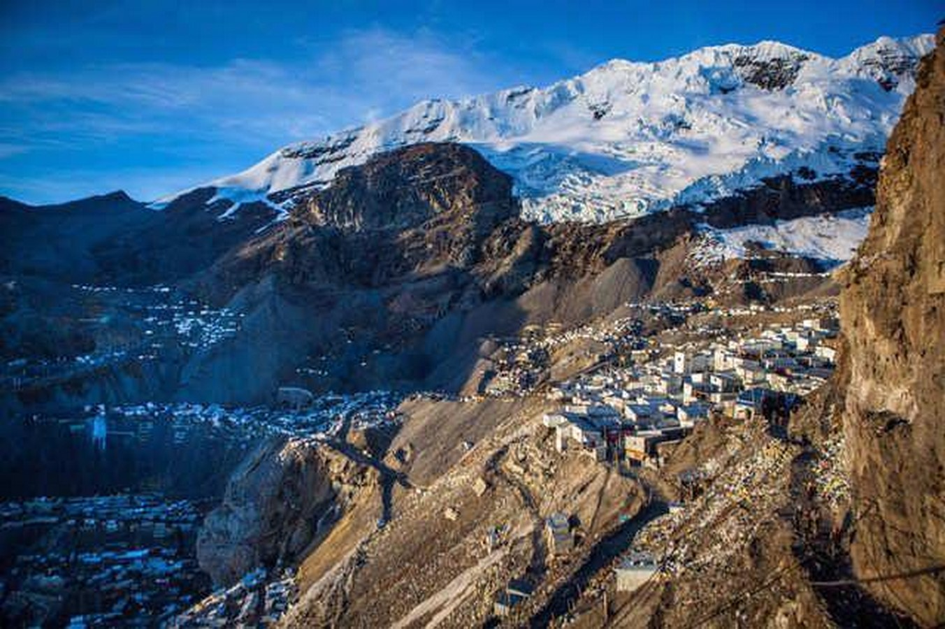 An architectural review of the La Rinconada : The highest human habitation in the world - Sheet1