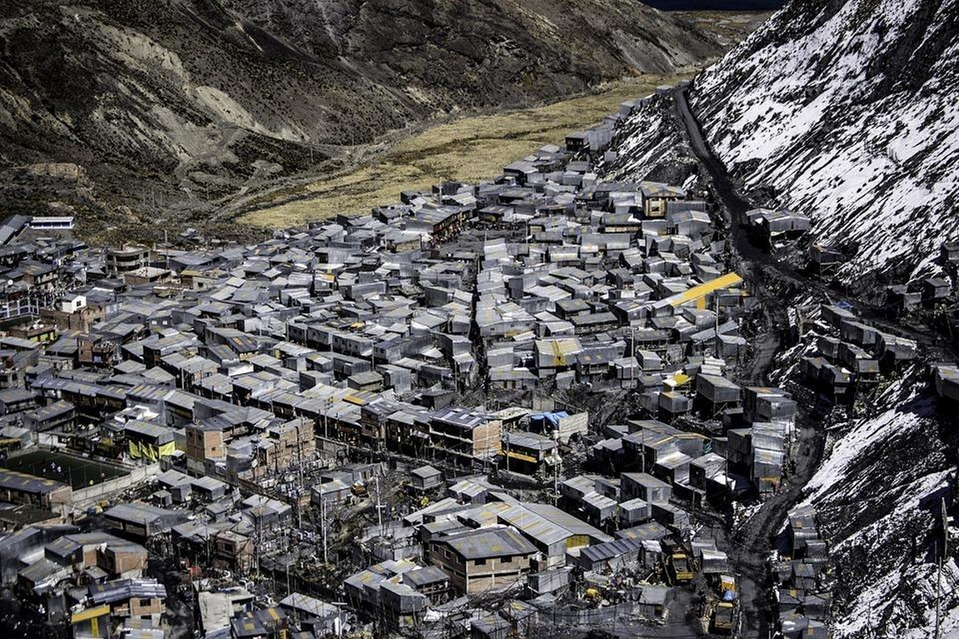 An architectural review of the La Rinconada : The highest human habitation in the world - Sheet2