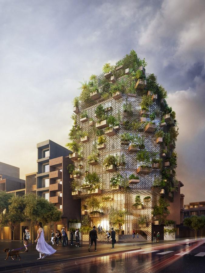 10 Innovative conceptual facade designs that were never built - Sheet3