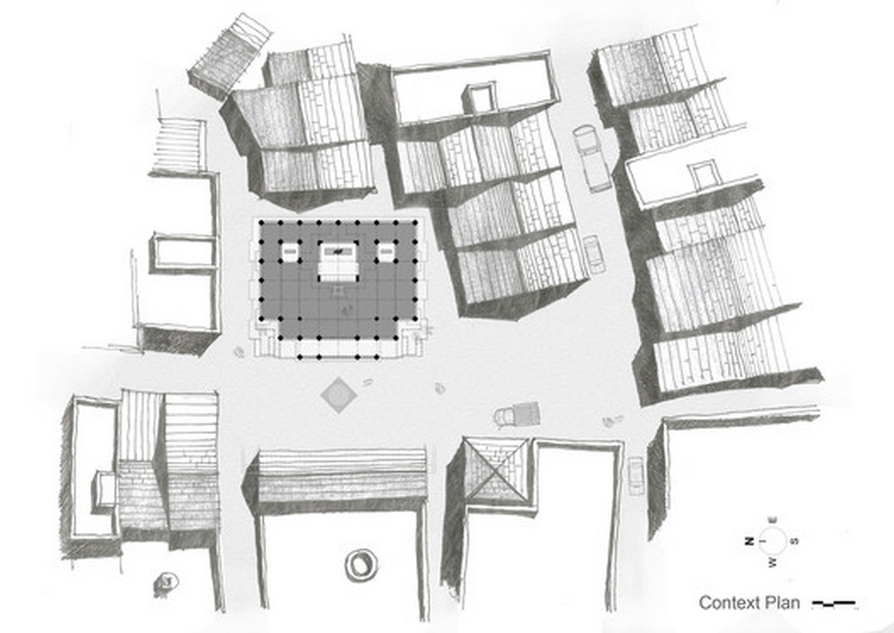 Maruti Mandir by Shailesh Devi: At the Centre of the Village - Sheet2