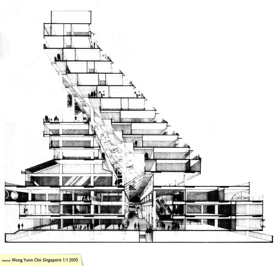 Architecture in Singapore - Golden Mile Complex - Sheet2