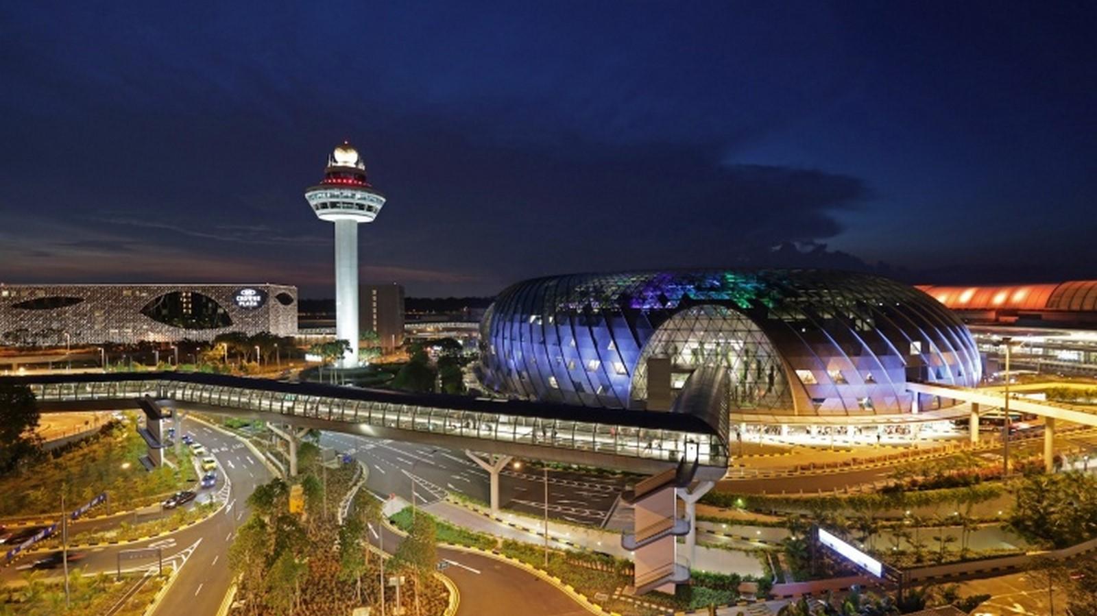 Architecture in Singapore - Jewel Changi Airport - Sheet1