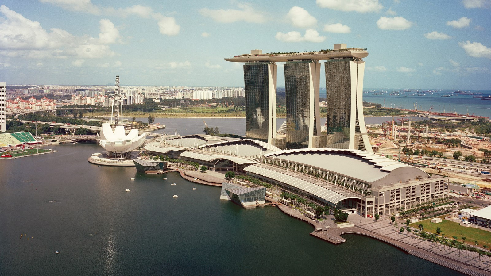 Architecture in Singapore - Marina Bay Sands - Sheet1