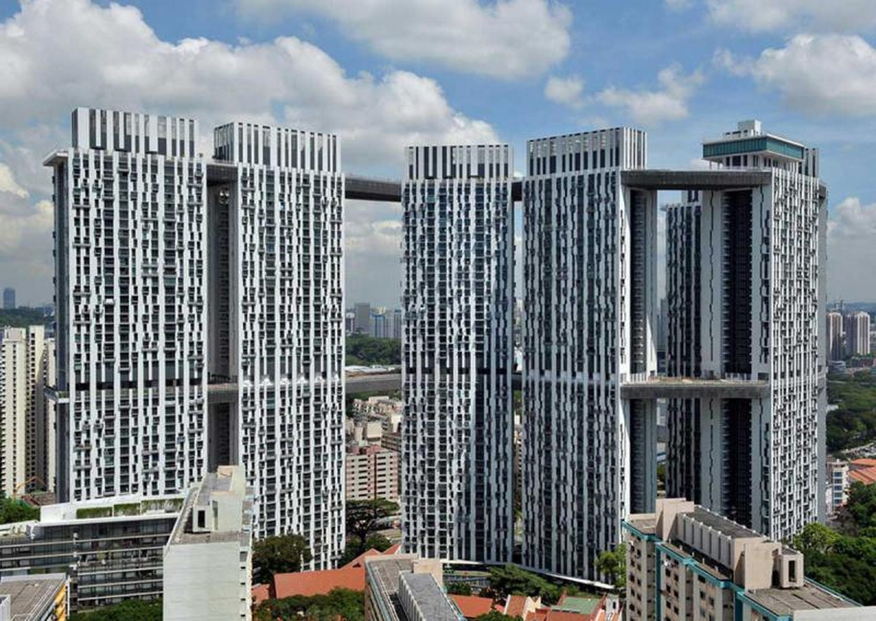 Architecture in Singapore - Public Housing by HDB - Sheet1