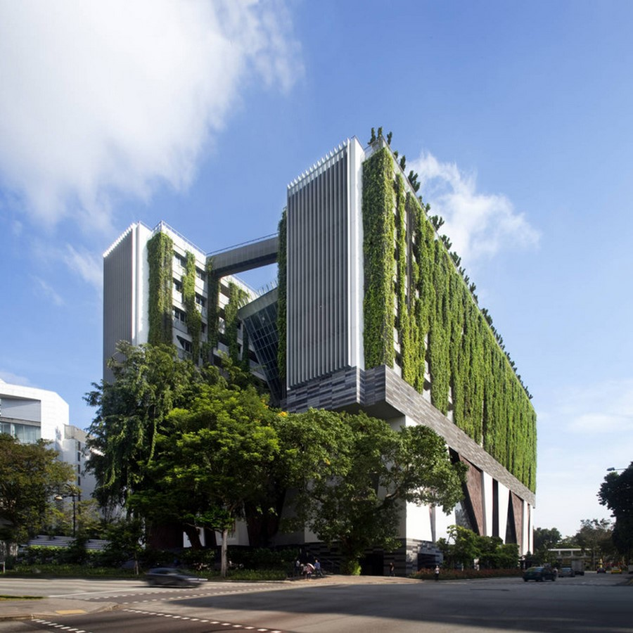 Architecture in Singapore- School of the Arts -Sheet1
