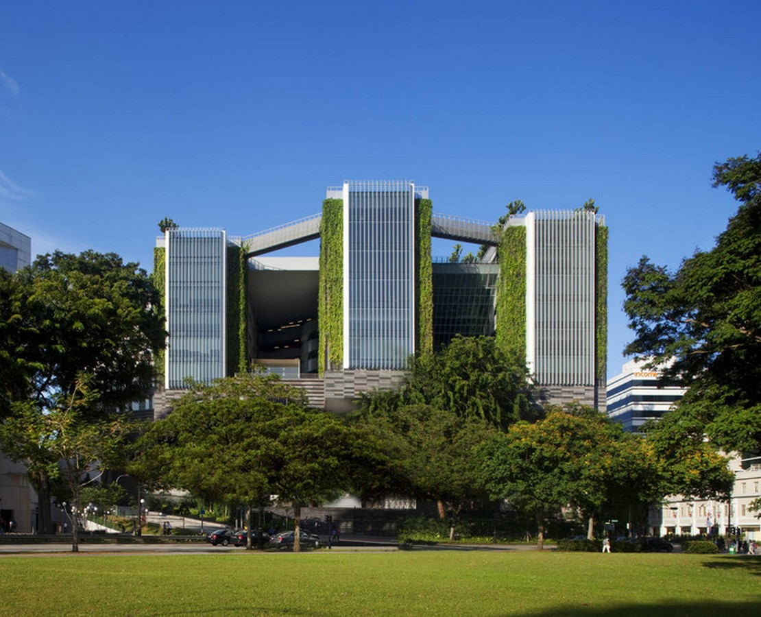 Architecture in Singapore - School of the Arts -Sheet2