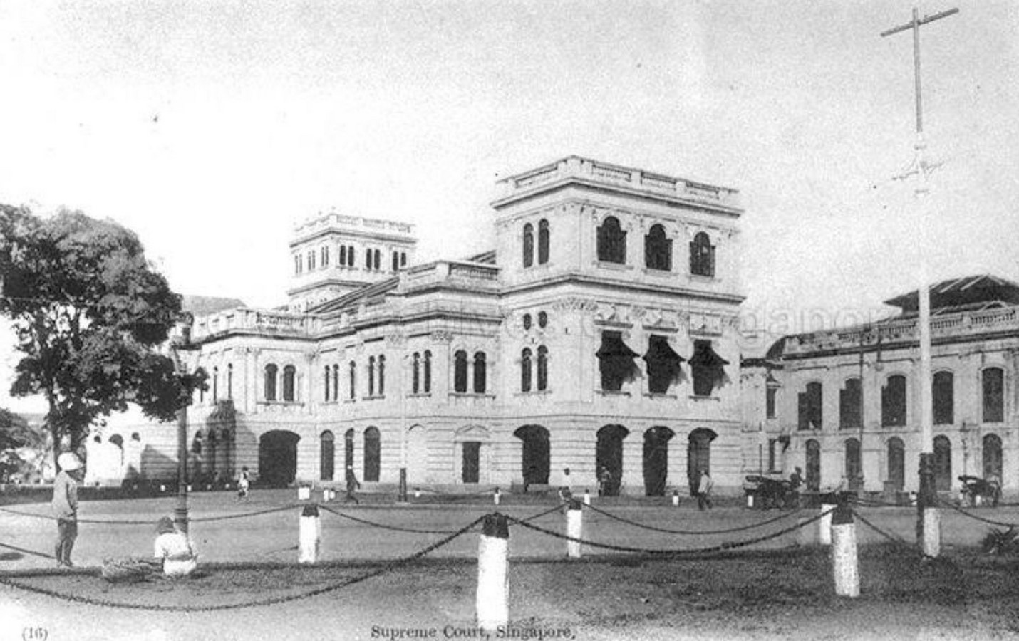 Architecture in Singapore - The Arts House (Formerly Old Parliament House) - Sheet1