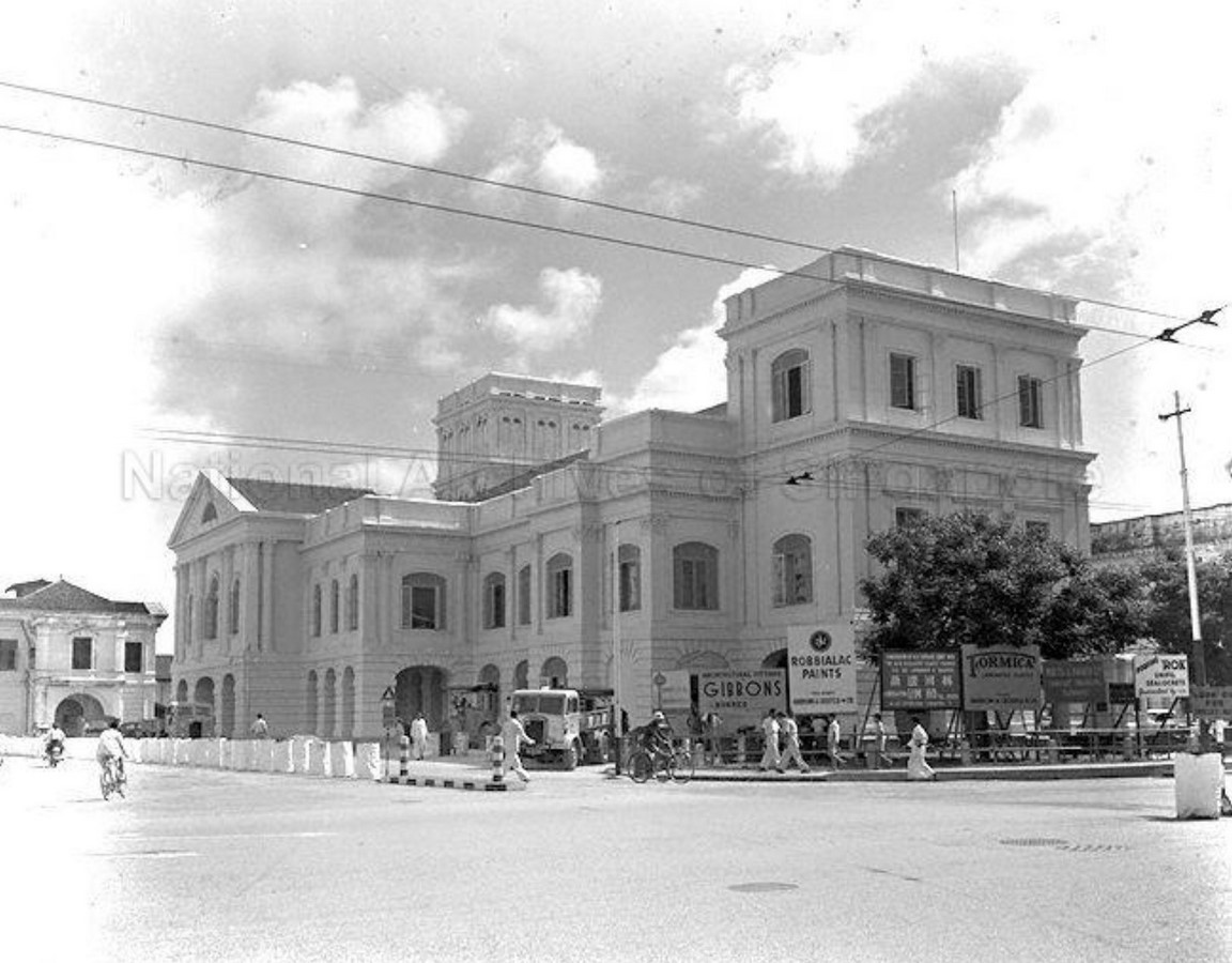 Architecture in Singapore - The Arts House (Formerly Old Parliament House) - Sheet2