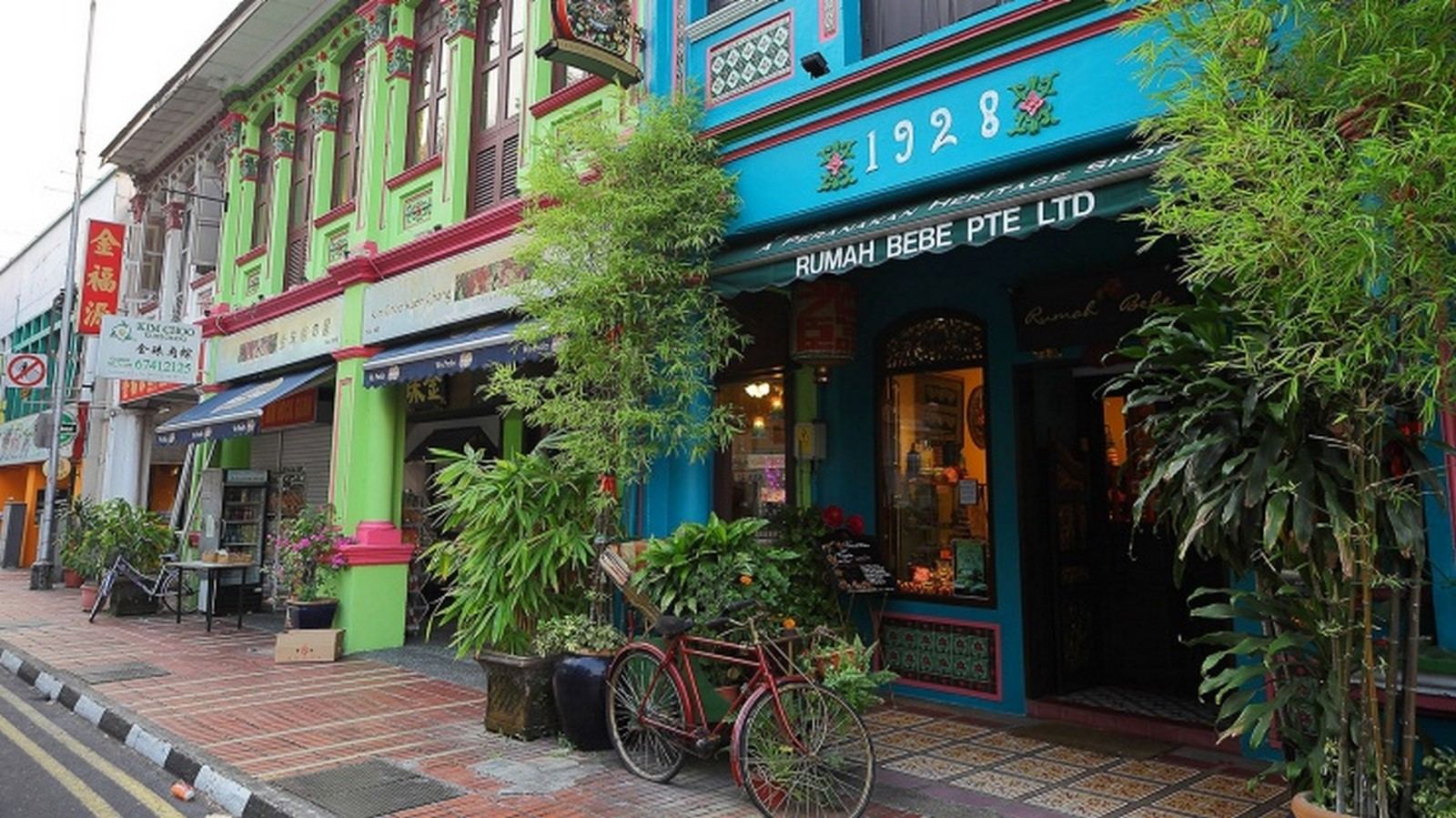 Architecture in Singapore -Shophouses - Sheet3