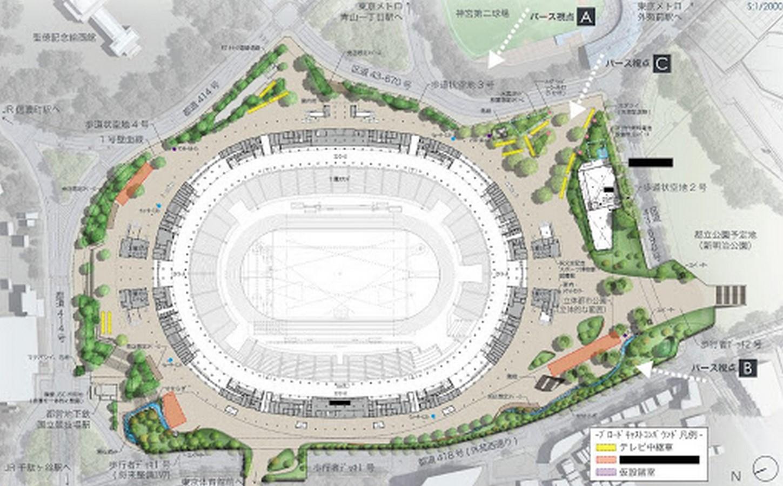 New Tokyo National Stadium - Tokyo, Japan - Sheet1