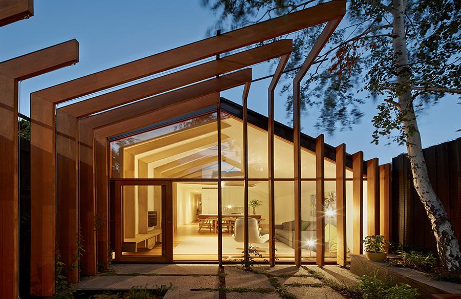 Cross-Stitch House By FMD Architects