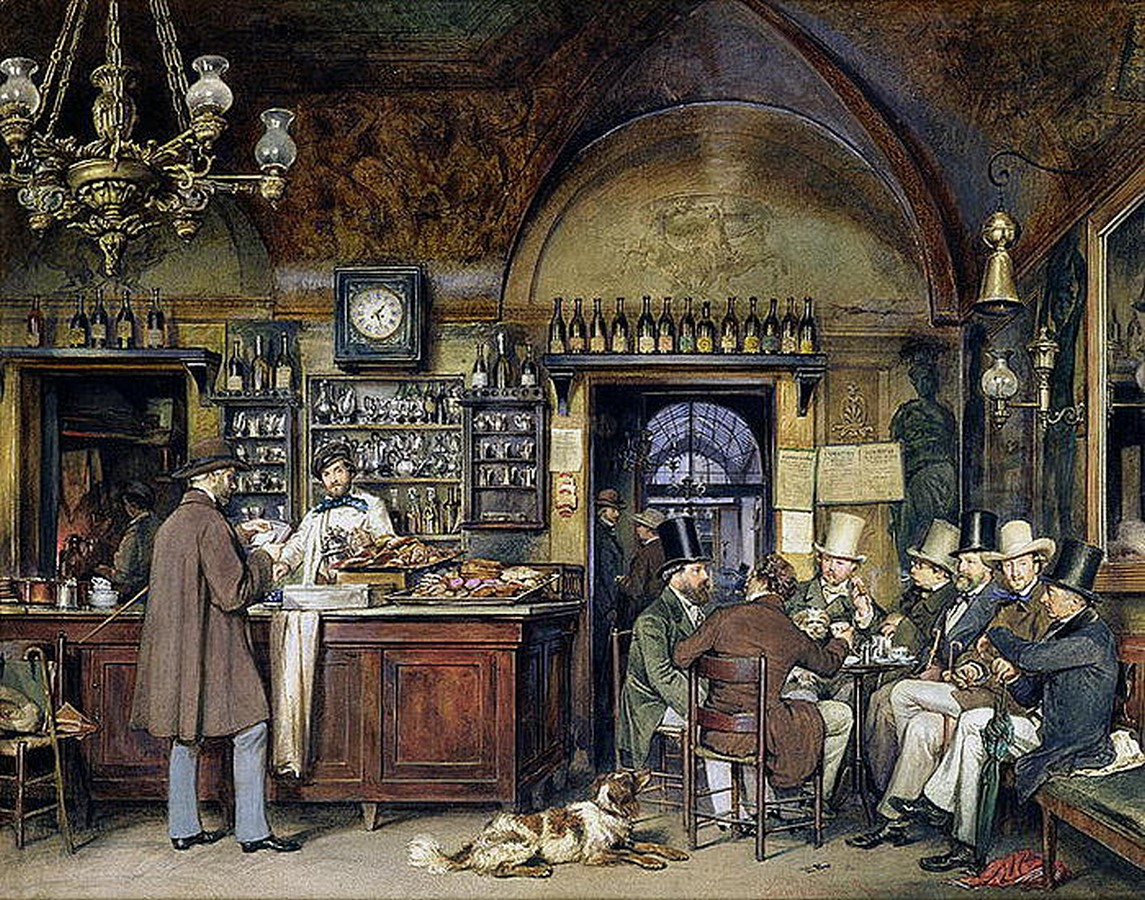 Caffè Greco, Rome: The oldest bar in Rome - Sheet5