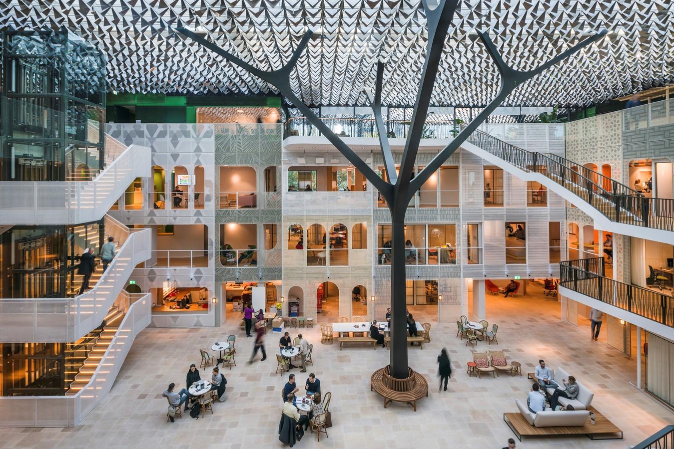 Goede Doelen Loterijen & Dutch Charity Lotteries Head Offices by Benthem Crouwel Architects: Under one roof - Sheet1