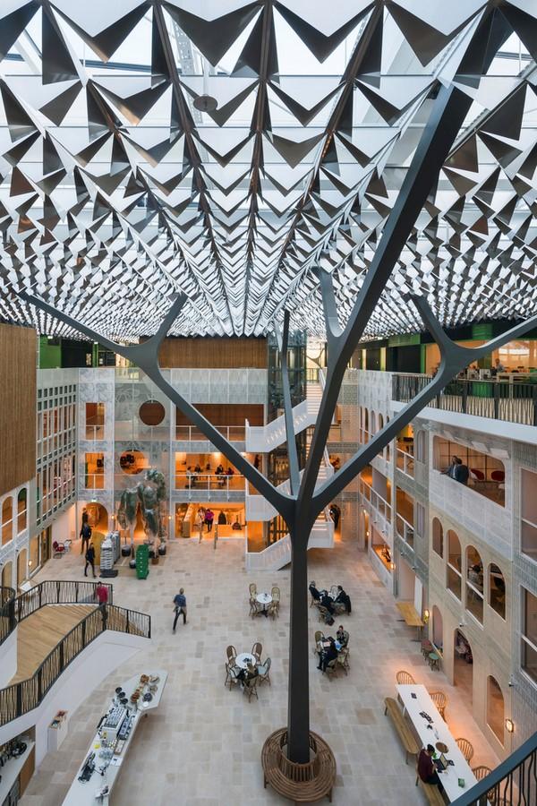Goede Doelen Loterijen & Dutch Charity Lotteries Head Offices by Benthem Crouwel Architects: Under one roof - Sheet4