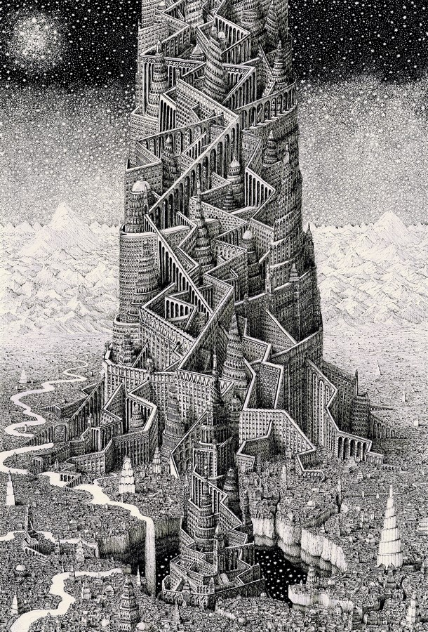 Artist Benjamin Sack and abstraction of cityscapes - Sheet2