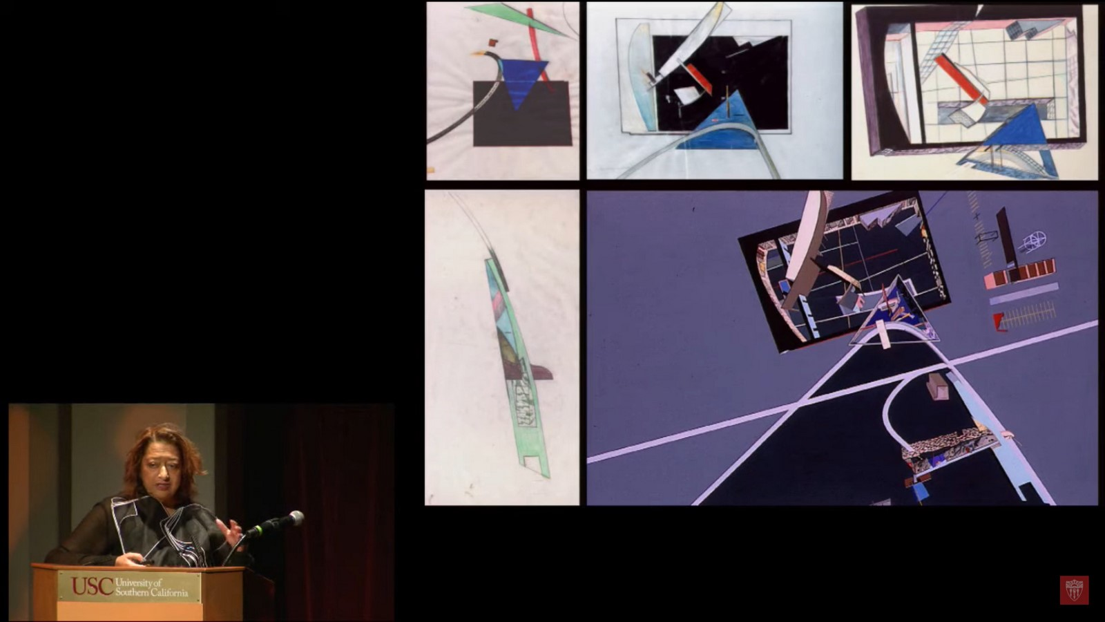 Interviews with Architects: Visions and Voices: An Evening with Zaha Hadid - Sheet2
