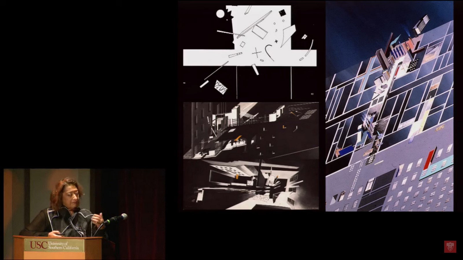 Interviews with Architects: Visions and Voices: An Evening with Zaha Hadid - Sheet3