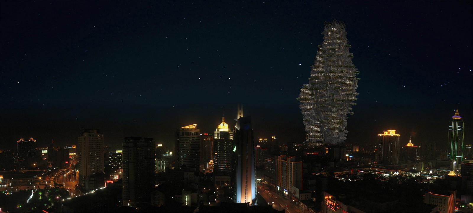 Osteon Cumulus by Desitecture: Vertical City - Sheet4