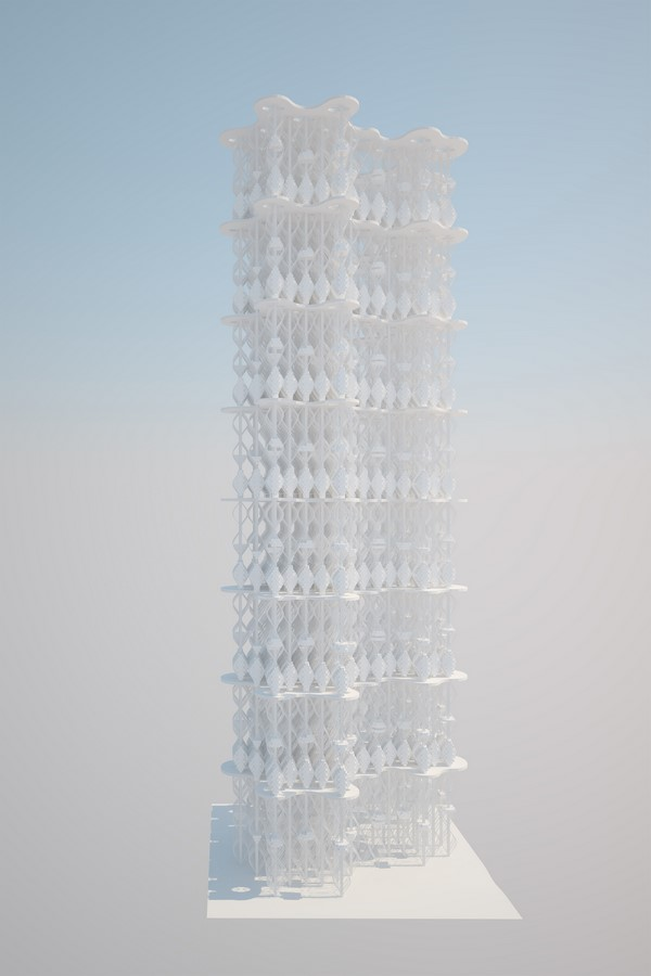 Osteon Cumulus by Desitecture: Vertical City - Sheet5