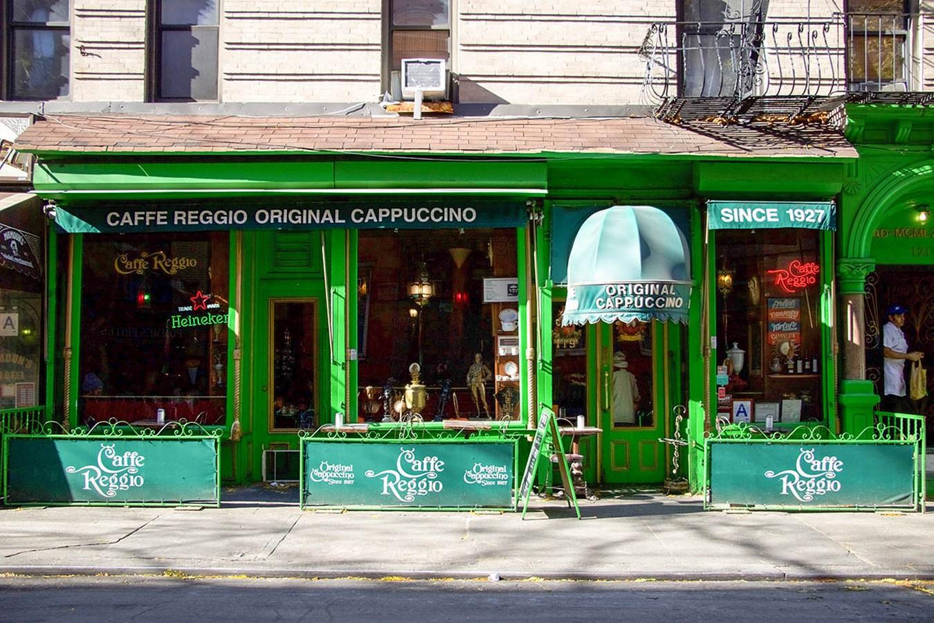 Caffè Reggio, New York City: The Oldest Bohemian Hangout - Sheet1