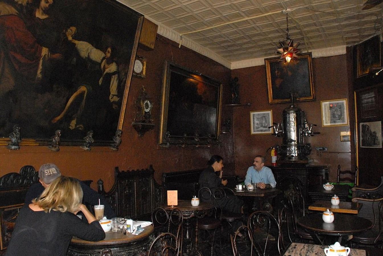 Caffè Reggio, New York City: The Oldest Bohemian Hangout - Sheet