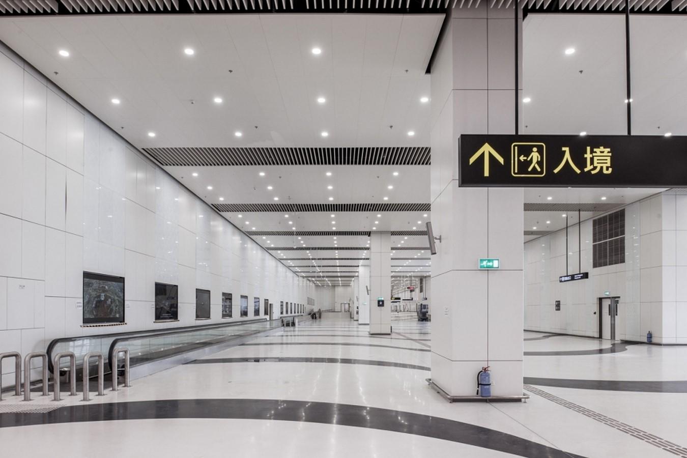 Hong Kong-Zhuhai-Macao Bridge Artificial Island Port by ECADI: The longest open-sea fixed link in the world Sheet13