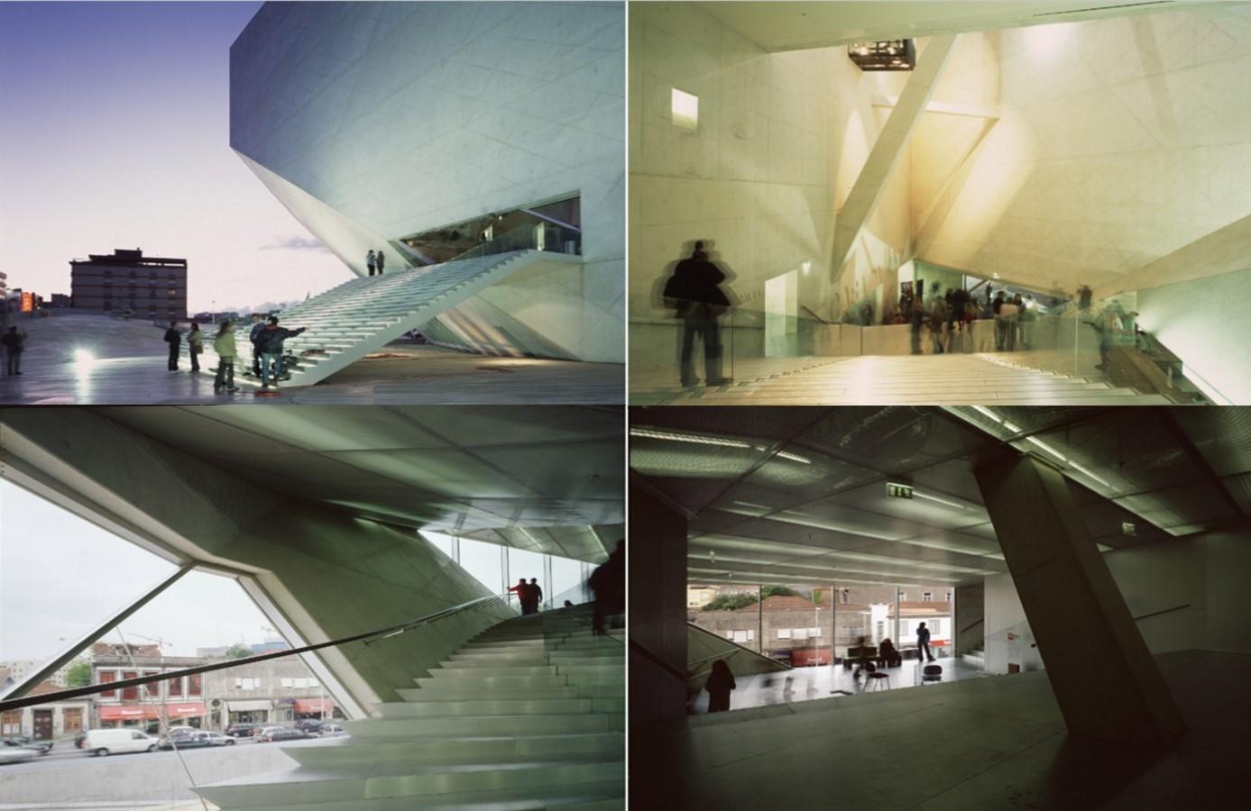 Casa Da Musica, Porto by Rem Koolhaas: The Asymmetrical Polyhedron - Sheet6