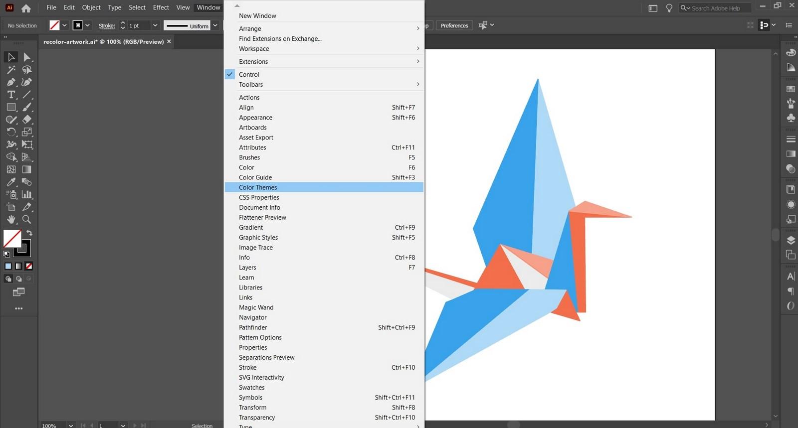 Adobe Color Themes - Sheet1